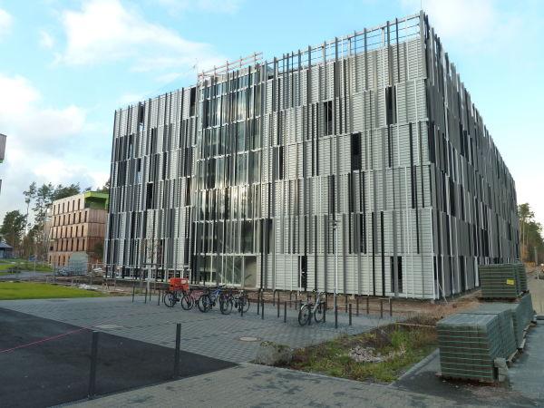 Architekt Erlangen Nürnberg: Neubau Parkhaus Chemikum Mit Erschließung